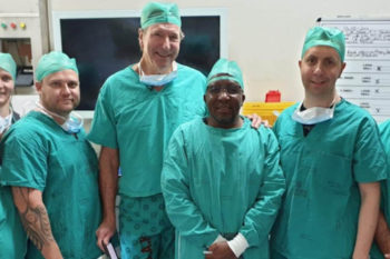 Middle ear transplant to cure deafness using 3D printing technologies
