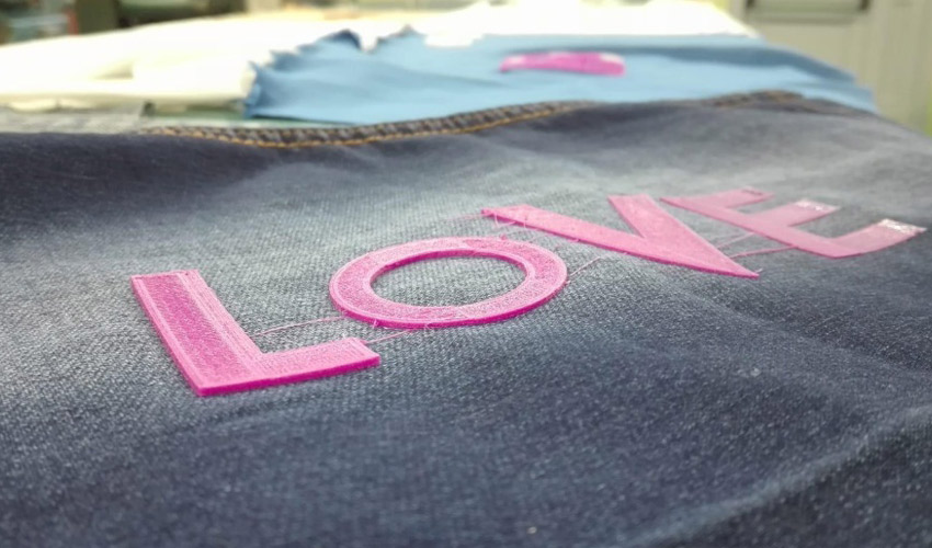 personalise textile
