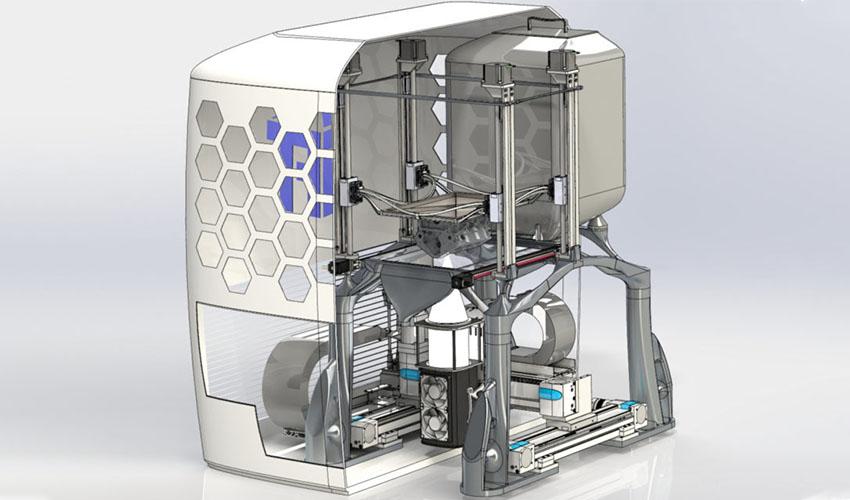 led metal 3d printer