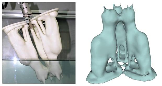 Archimedes 3D scanning