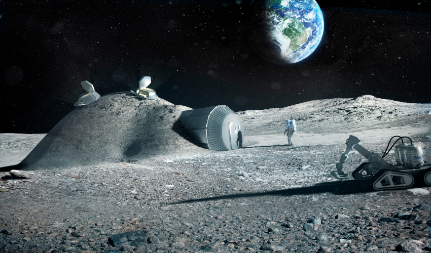 China reveals plans to build 3D printed base on moon - 3Dnatives