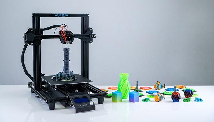 color 3d printers