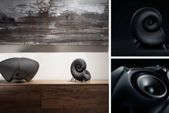 Interview with DEEPTIME about their 3D printed speakers from sand