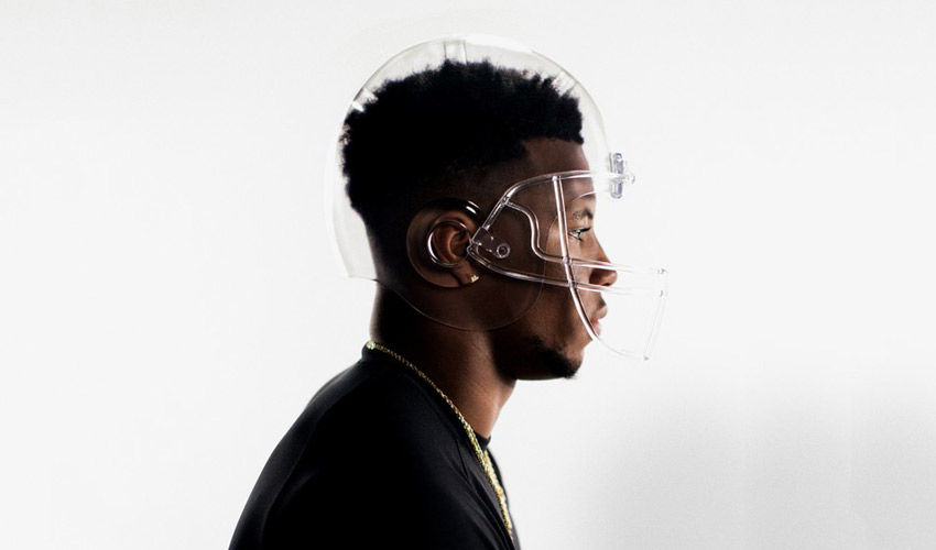 glass helmet