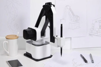 Affordable all-in-1 desktop robot arm can 3D print, laser engrave and draw