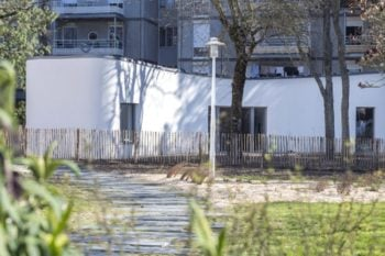 Family moved into social housing project with 3D printed house