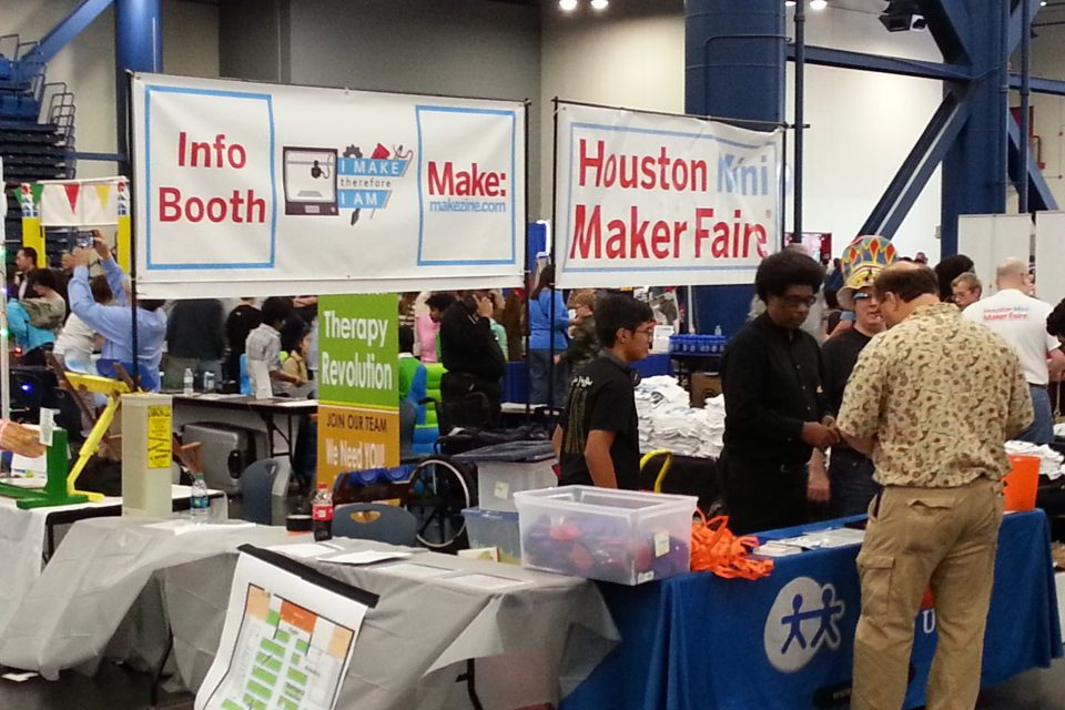 Houston Maker Faire 2017: Our interview before the event