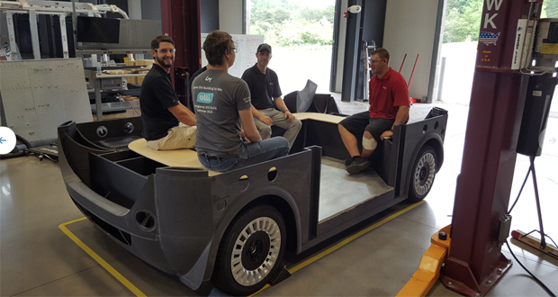 3d printed car knoxville