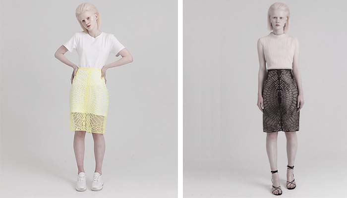 3D printed skirt