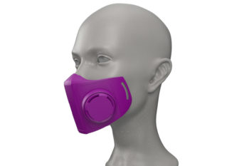 NanoHack, an open-source 3D printed mask against COVID-19