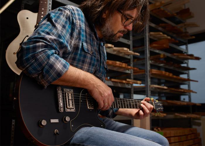 Nik Huber Guitars 3D printing