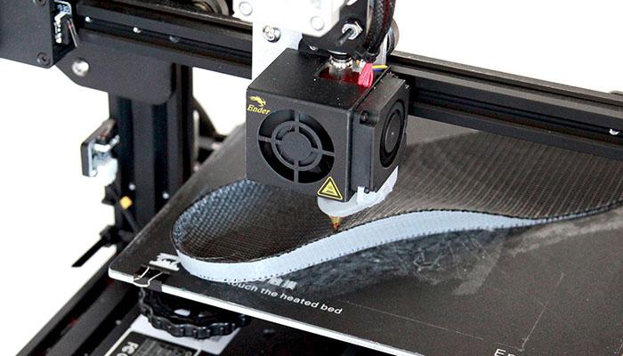 non planar 3D printing