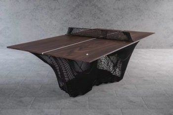 A 3D printed ping-pong table made of steel!