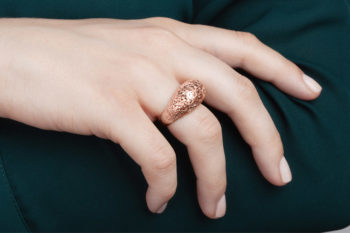 RADIAN relies on 3D printing to create personalised jewelry