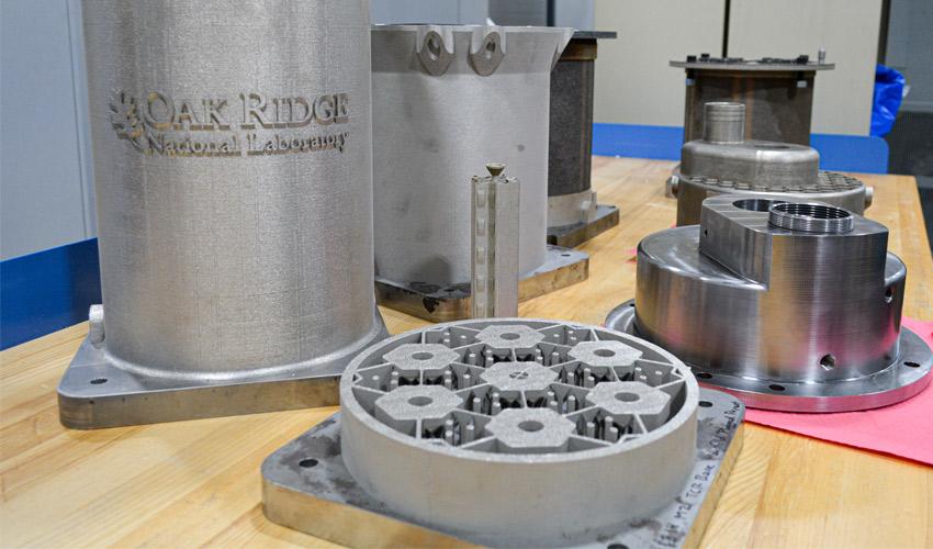 3d printed nuclear reactor