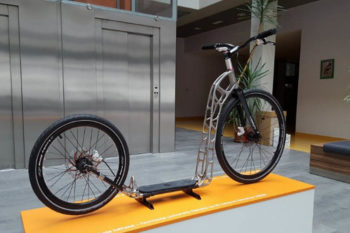 3D Printed Scooter: collaboration between Czech researchers & Renishaw