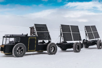 Solar Voyager; 3D printed electric vehicle going to Antarctica
