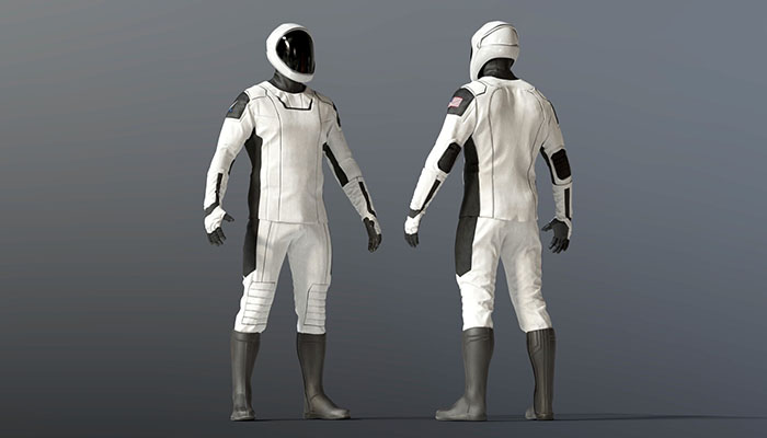 spaceX suits