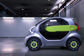 YoYo, a 3D printed electric car for less than €8,000