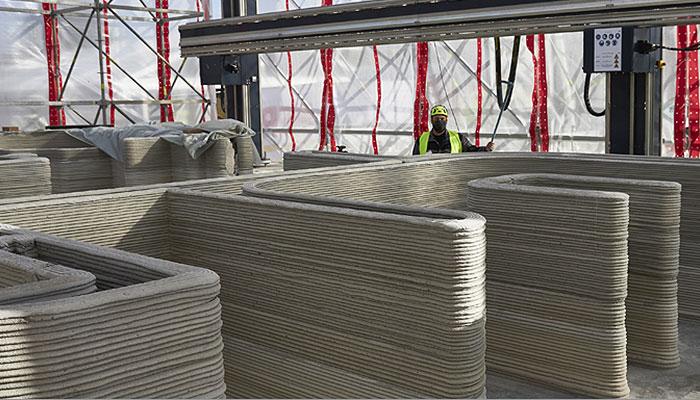 impresión 3D sector construcción