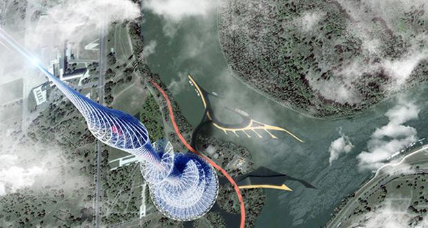 rascacielos impreso en 3D