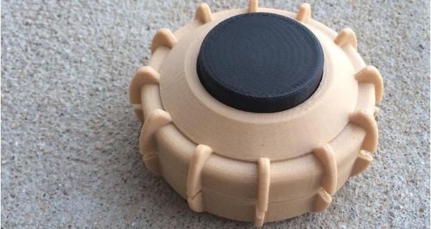 3D printed landmine