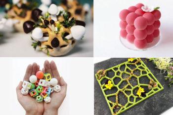 Impresoras 3D de comida, comida impresa y accesorios 3D en tu cocina