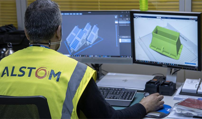 Alstom amplía las instalaciones de su Hub de impresión 3D en España