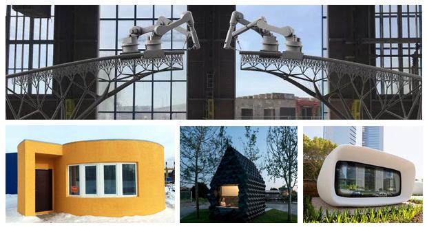 Top 12 de los mejores proyectos que relacionan arquitectura e impresión 3D