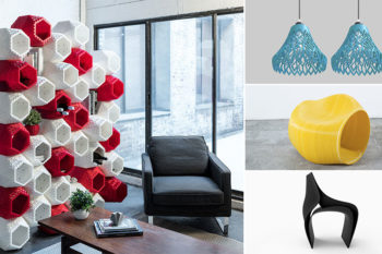 Los 14 originales muebles impresos en 3D
