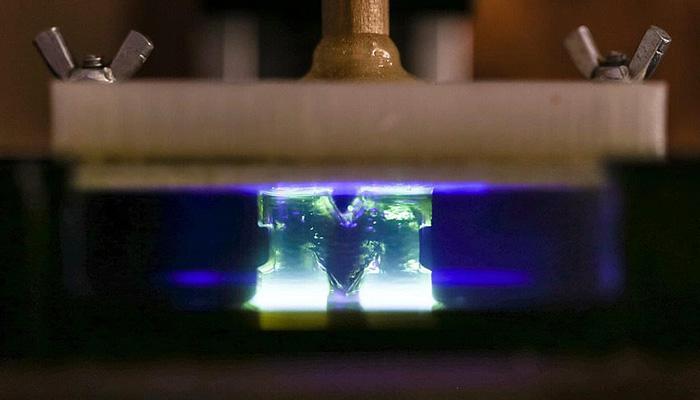 impresión 3d con luz