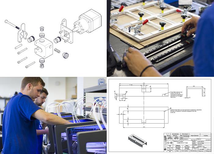 impresora 3D de ódigo abierto