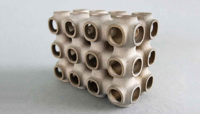 Inyección aglutinante metal