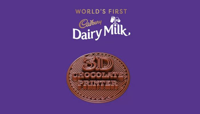 impresora 3d de chocolate