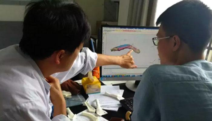 clávicula impresa en 3D