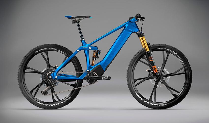 Kinazo e1, la bicicleta eléctrica impresa en 3D gracias a Volkswagen