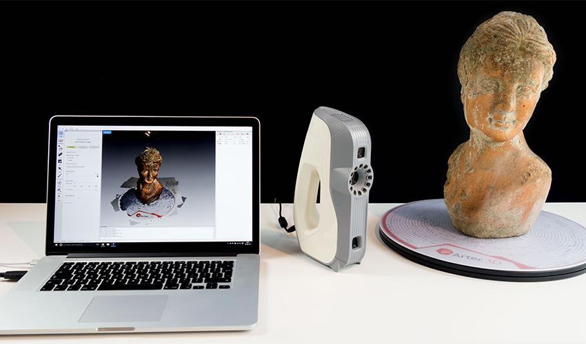 La restauración con impresión 3D en los museos