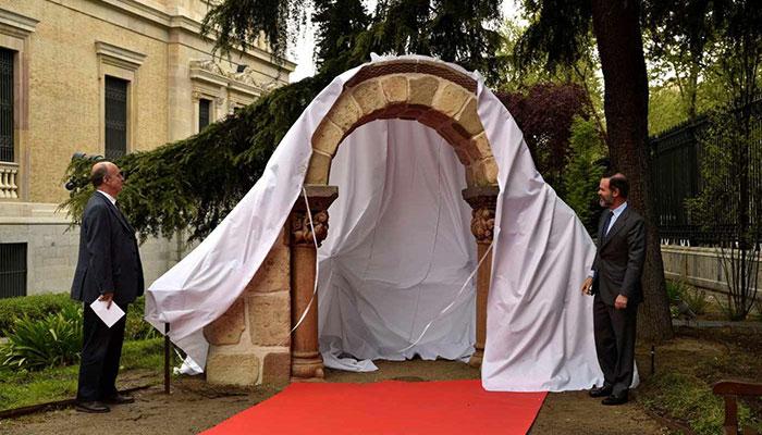 arco románico impreso en 3D