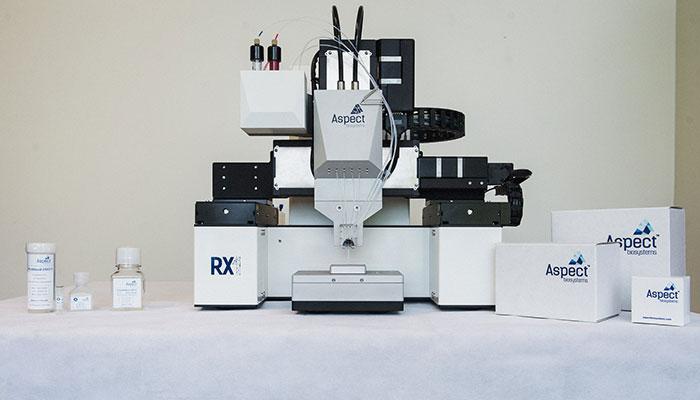 bioimpresora Aspect Biosystems.