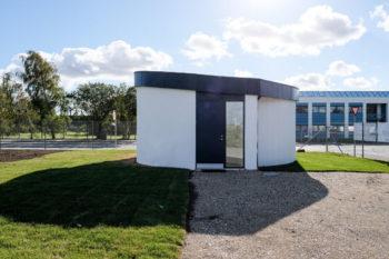 COBOD, la impresión 3D de edificios mediante un sistema de pórtico modular
