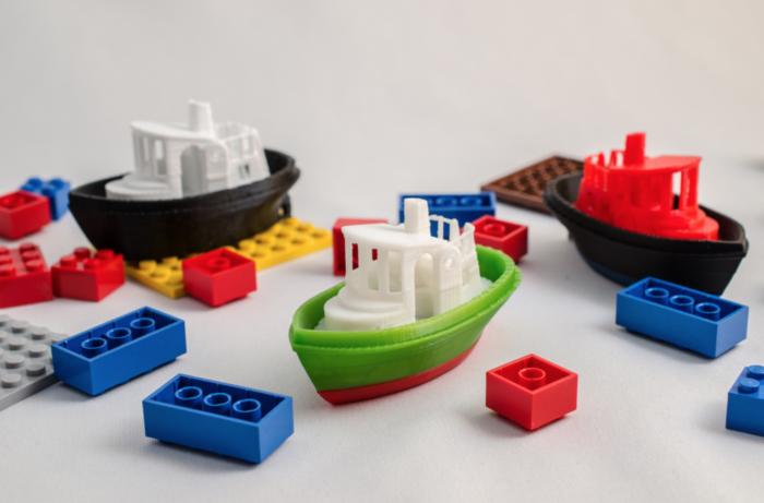 barcos impresos en 3D