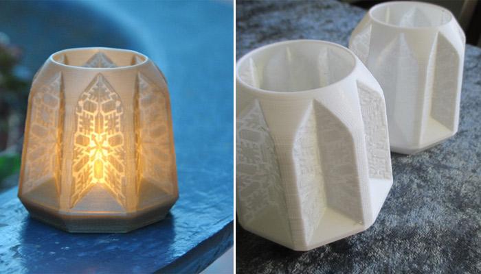 navidades de impresión 3D