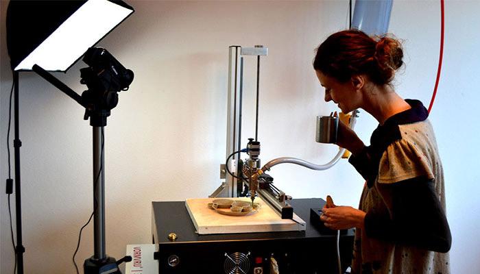 impresora 3D cerámica