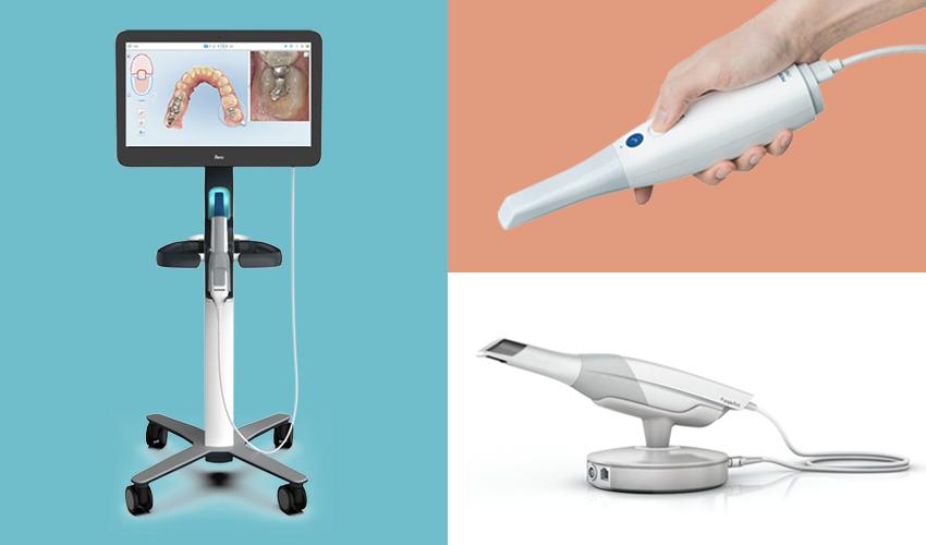 escáneres 3d intraorales