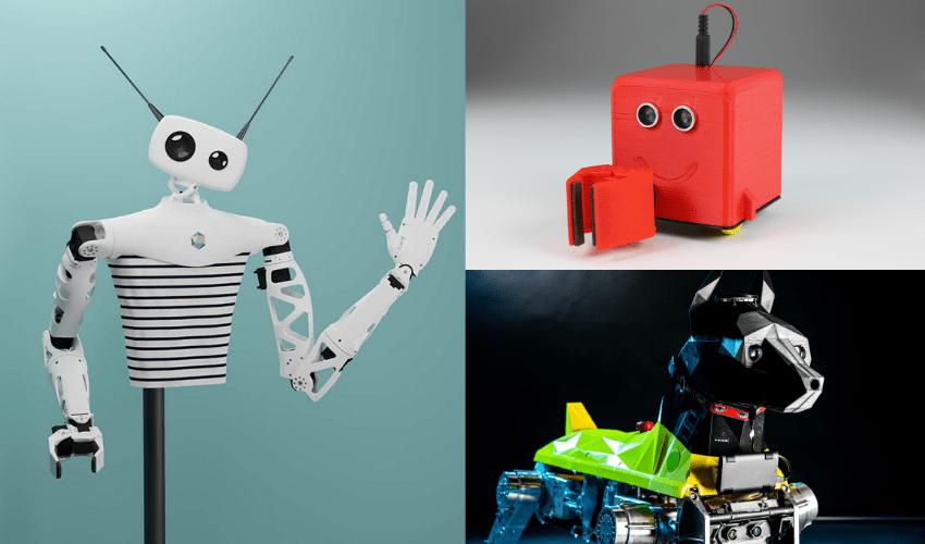robots impresión 3d