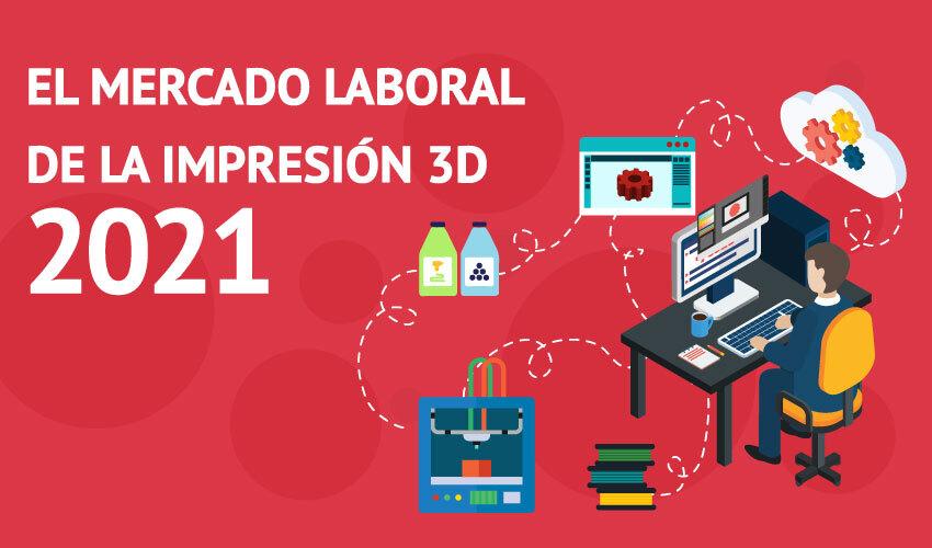 mercado laboral impresión 3D