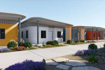 Una urbanización de casas impresas en 3D en América Latina