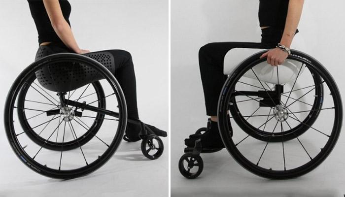 silla de ruedas impresa en 3D