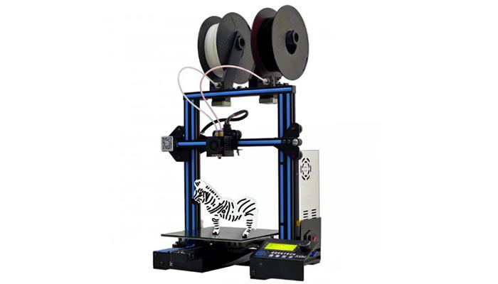 impresora 3D con doble extrusor
