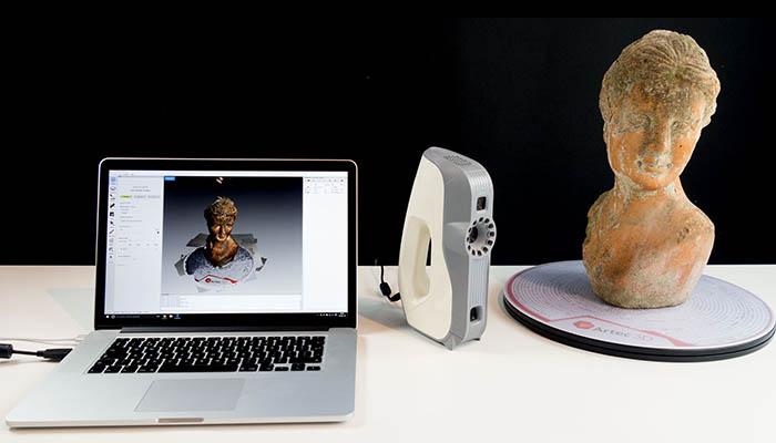 escáneres 3D profesionales